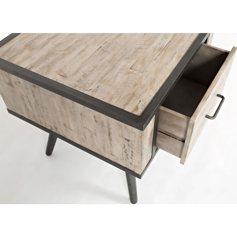 Jofran 1640 3 American Retrospective End Table w Grey Wash