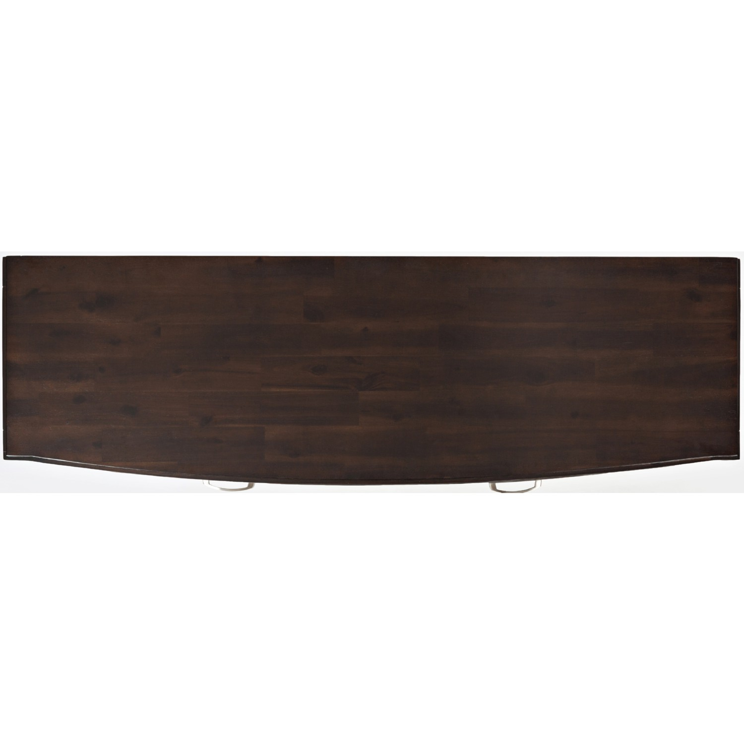 Jofran Downtown 60 Media Console Tv Stand In Merlot Finish