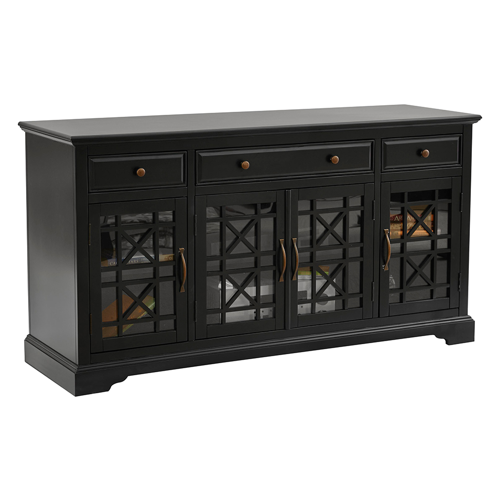 Jofran 275 60 Craftsman Antique 60quot TV Stand Media Unit in  : 275 60 1 from www.dynamichomedecor.com size 1000 x 1000 jpeg 228kB