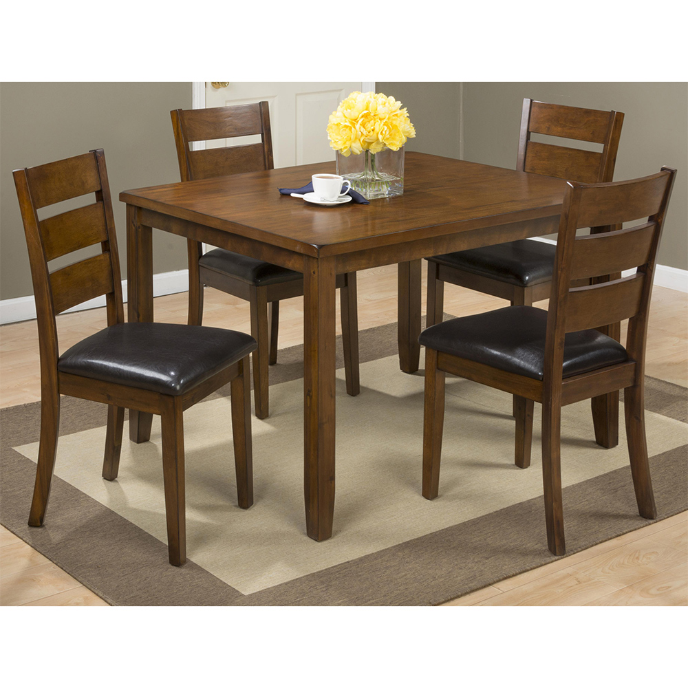 Jofran 591 Plantation Dining Table Amp 4 Chairs Set