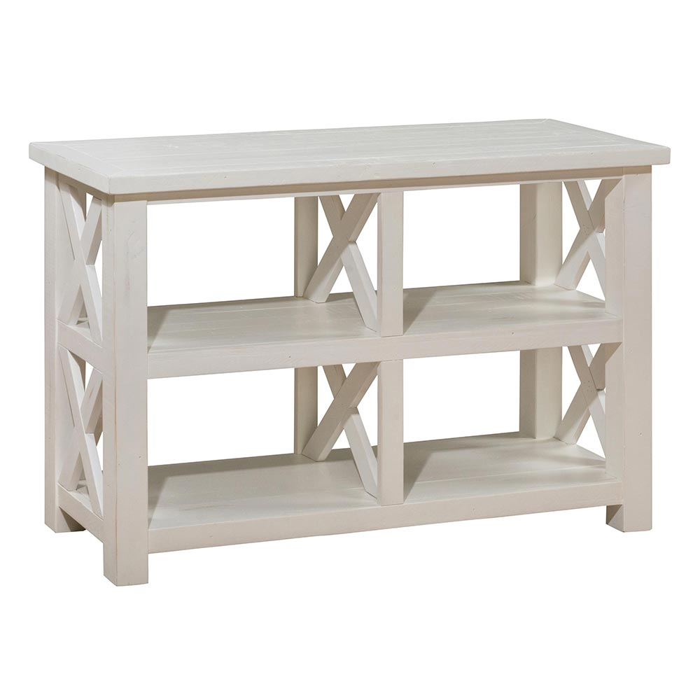 Jofran Chadwick Counter Height Table With Corner Bench And: Jofran 649-4 Madaket Reclaimed Pine Sofa Table W/ X Sides