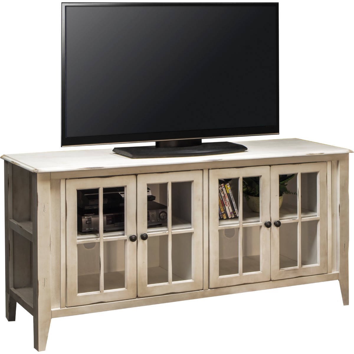 Legends Furniture CA1451 Calistoga White 64 TV Stand