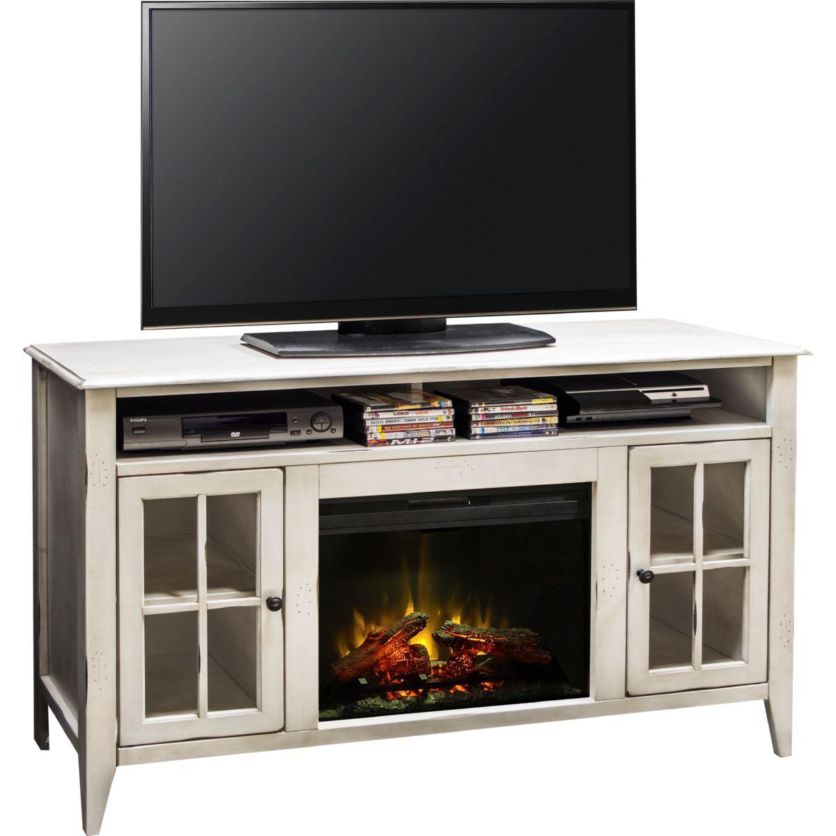 Legends Furniture Ca5314 Calistoga White 60 Quot Fireplace Tv