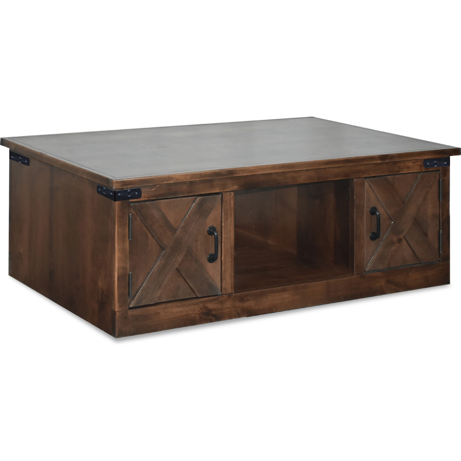 Legends Fh4210 Awy Farmhouse Coffee Table In Distressed Aged Wiskey