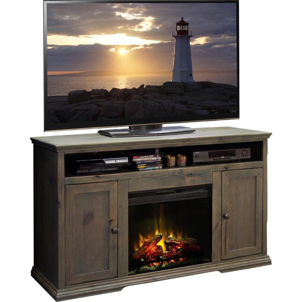 Legends Furniture GY5304 Greyson 59 Fireplace TV Stand