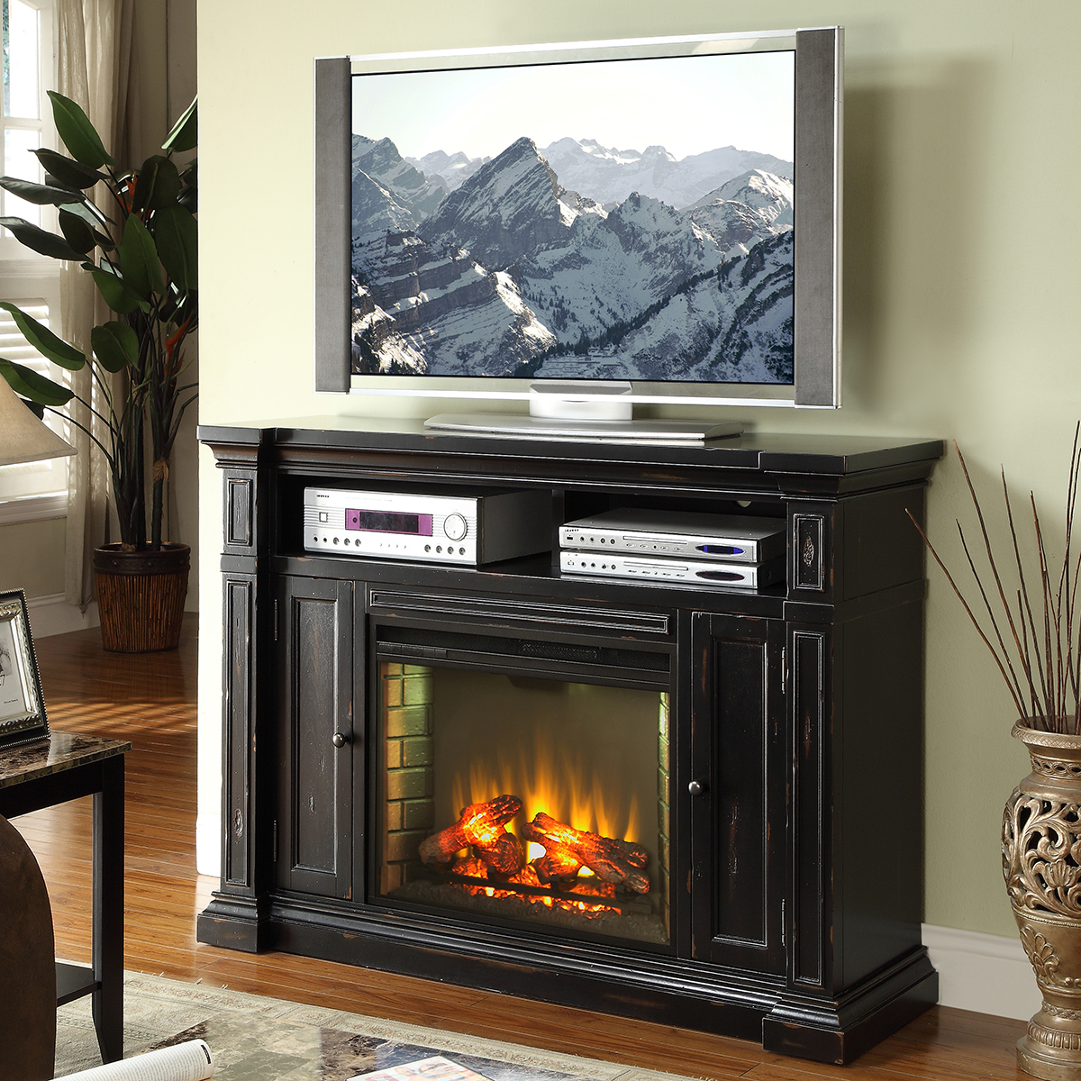 Legends Furniture Zman 1900 Manchester 58 Quot Fireplace Media