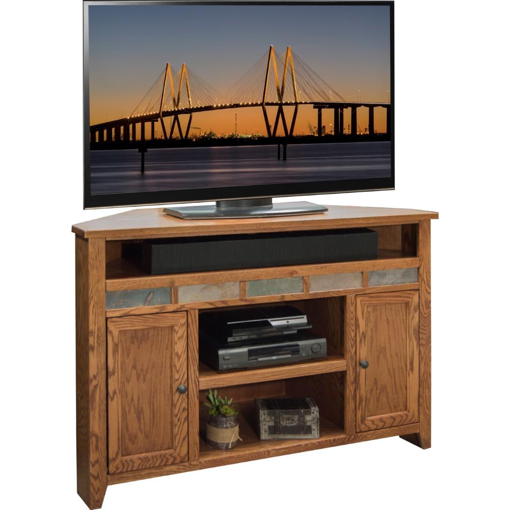 golden oak tv stand