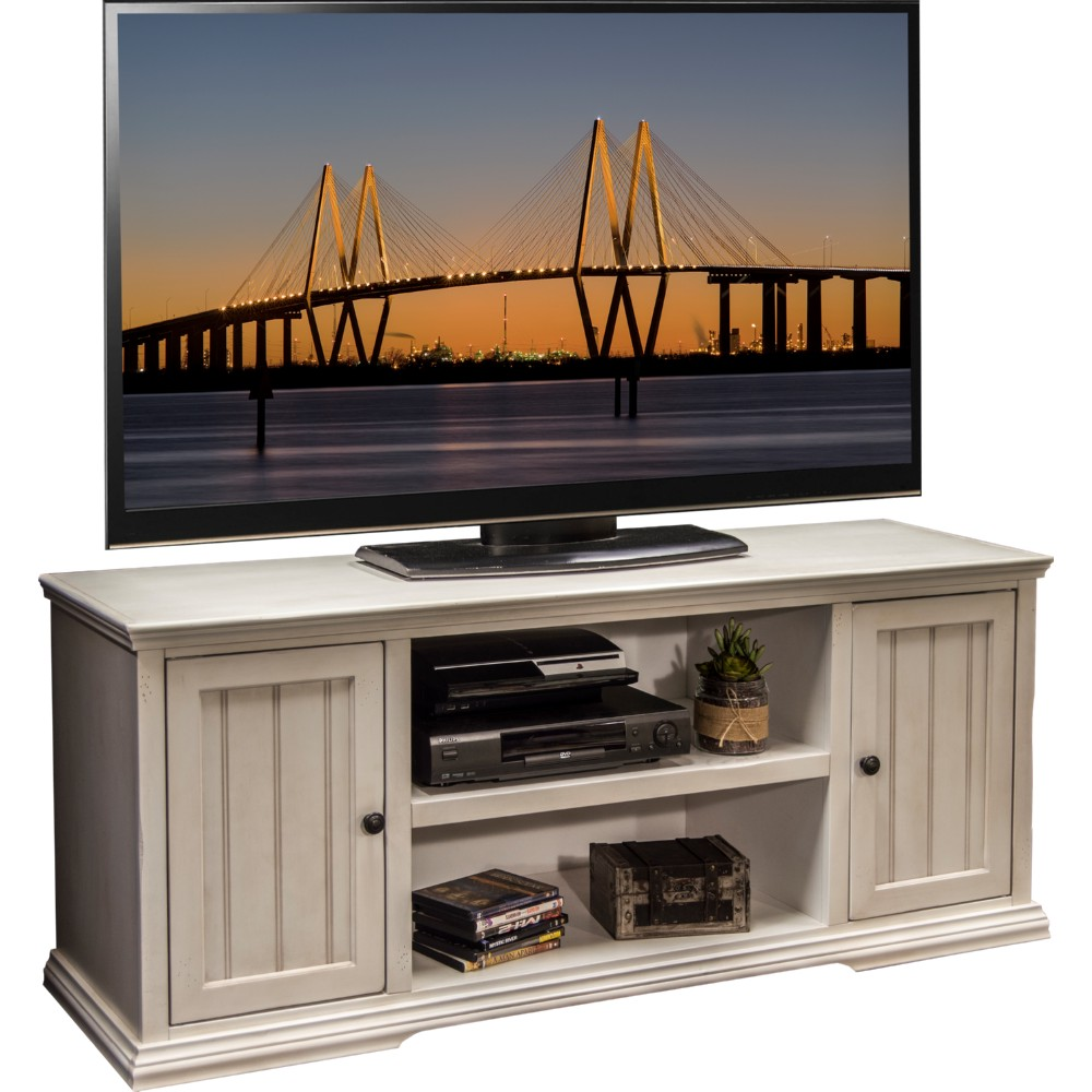 """Legends Furniture RT1228.ATW Riverton 62"""" TV Stand Console"""