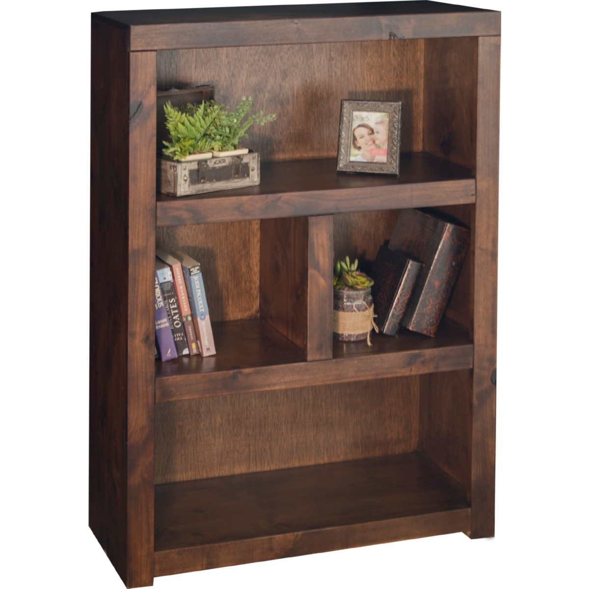 Sausalito 48 Bookcase In Distressed Whiskey By Legends Furniture