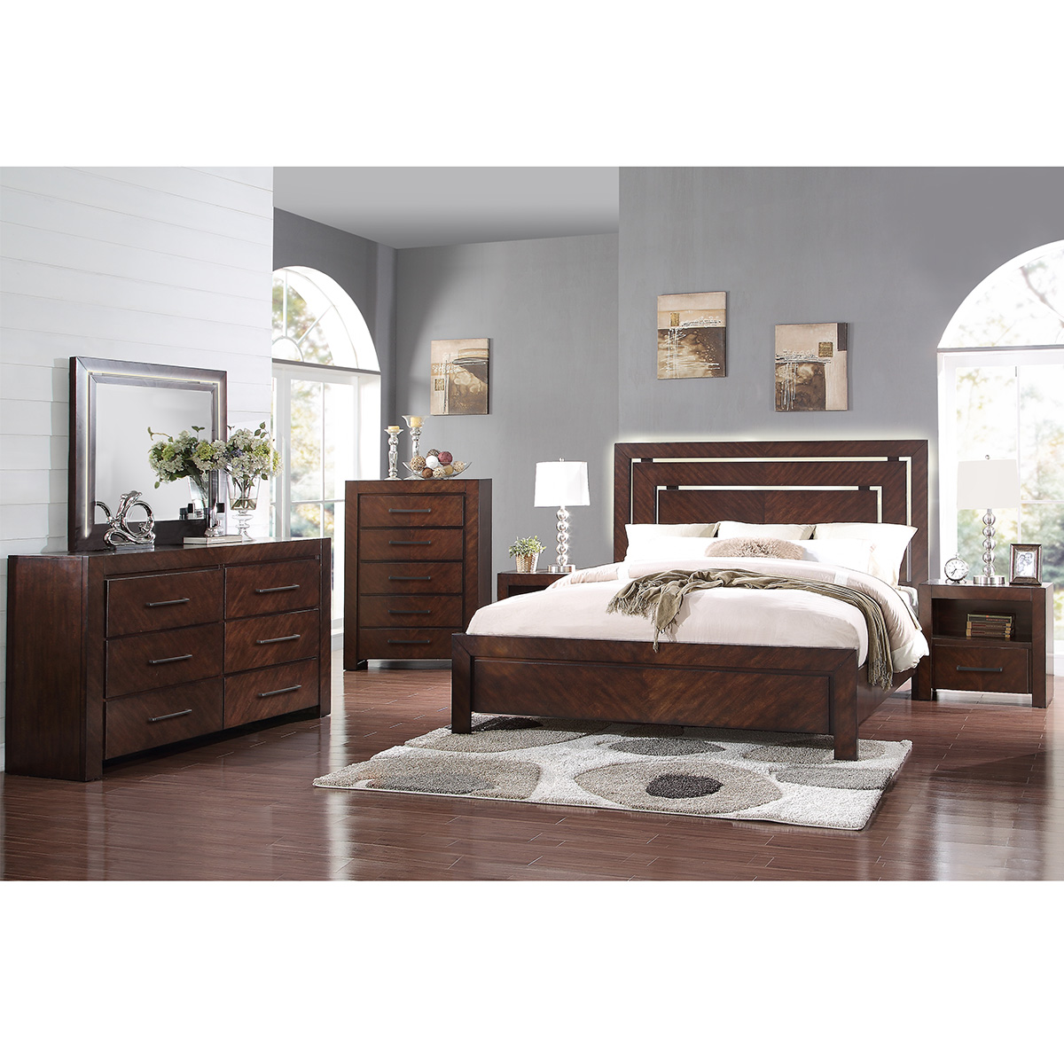 Furniture King Bedroom Set Walnut With Jcpenney King Bedroom Sets 2