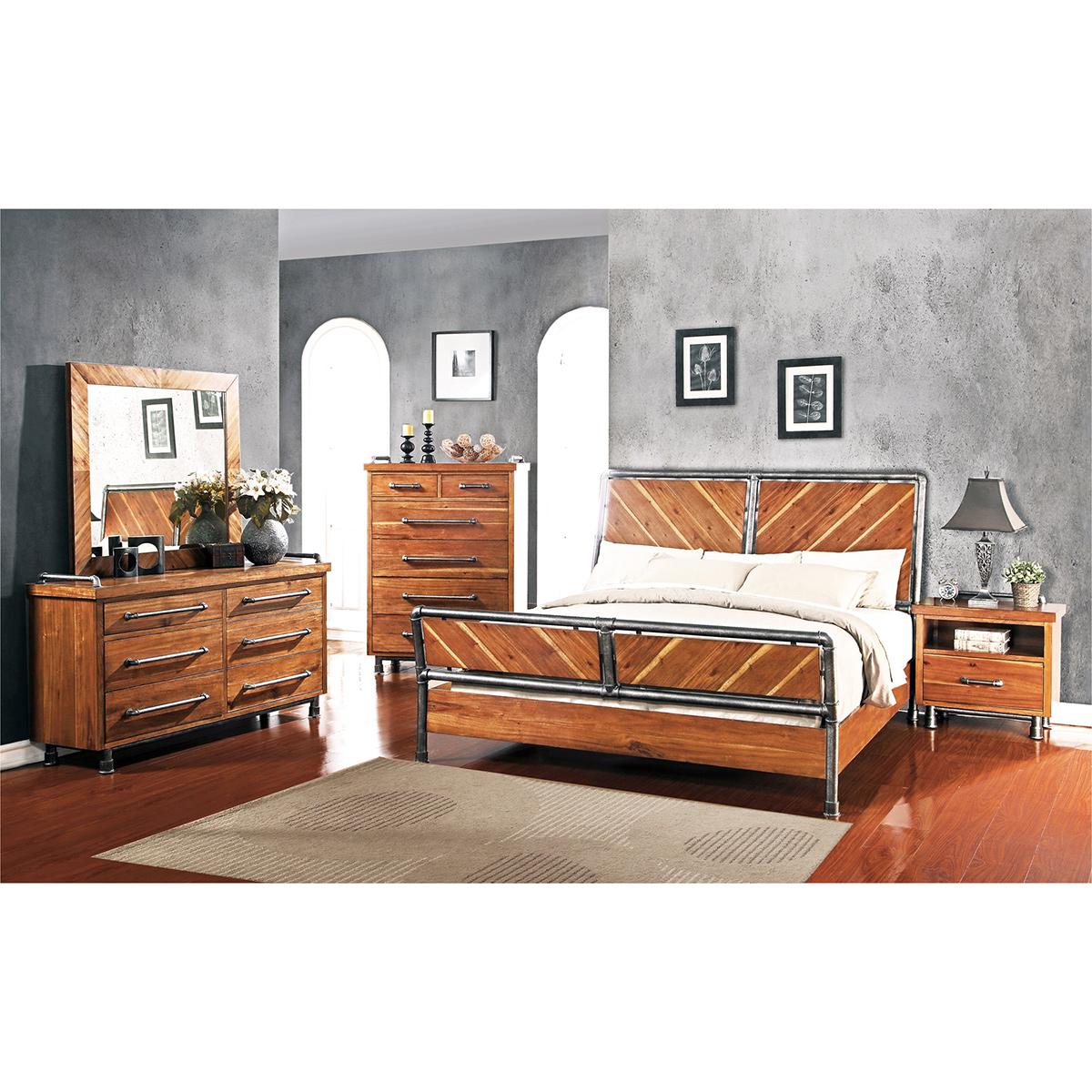 Legends Furniture ZSPK 7700 5PC KING Steampunk 5 Piece