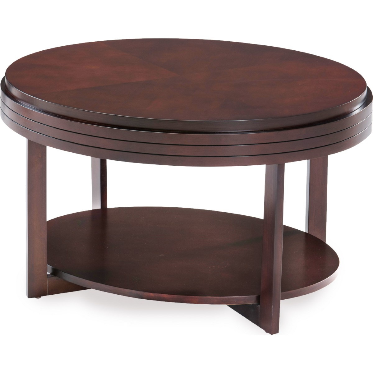 Leick Furniture Laurent Two Drawer Sofa Table Chocolate Cherry Finish Leick Furniture Stratus