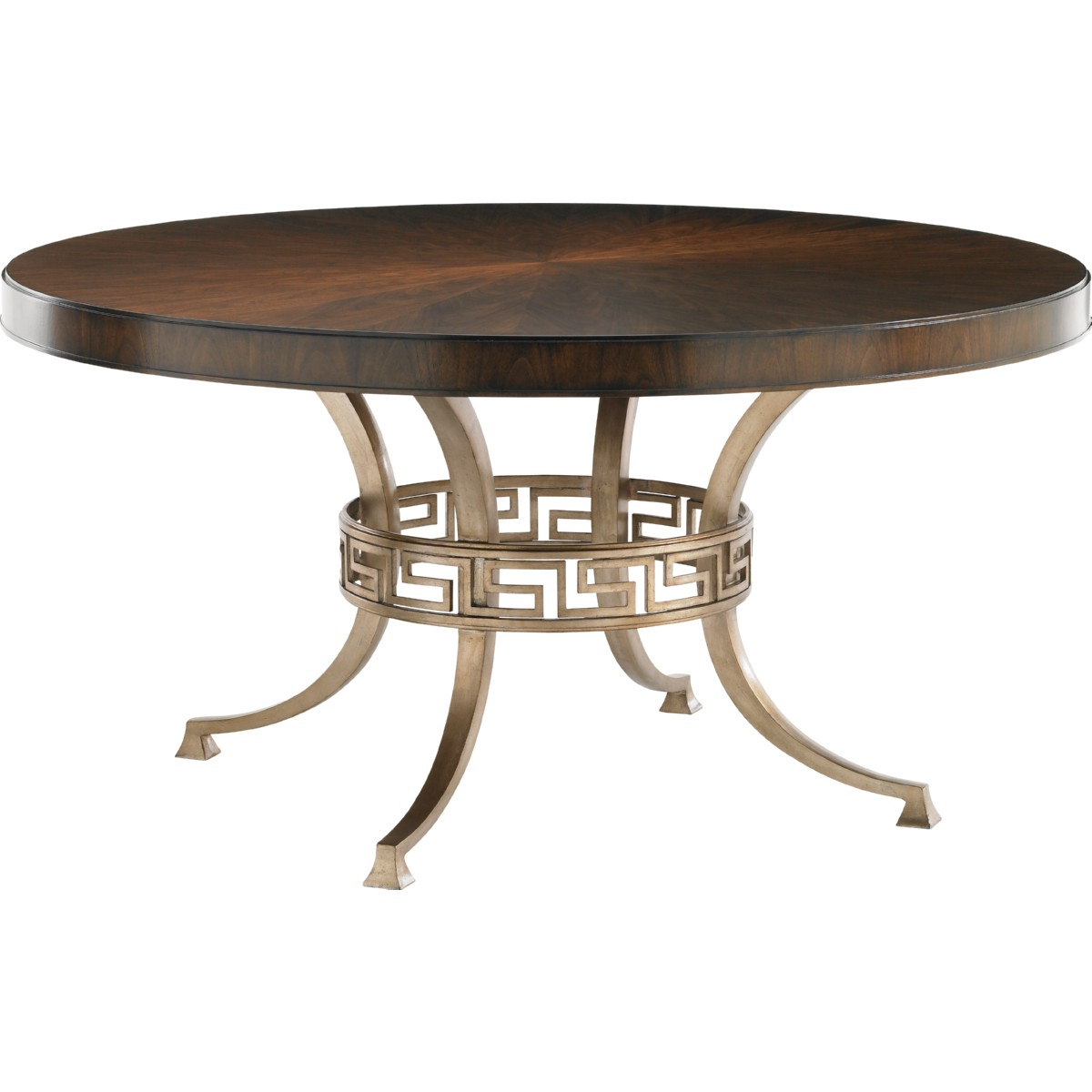 Lexington 706 875c Regis Round Dining Table W Cathedral
