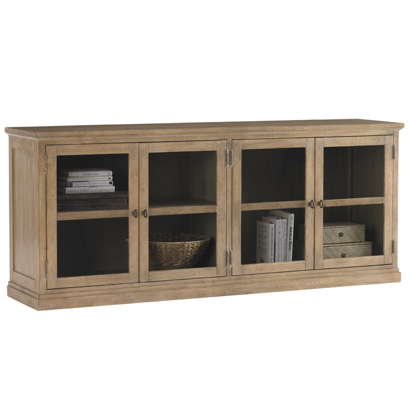lexington furniture sausalito glass door stackable cabinet in cambria