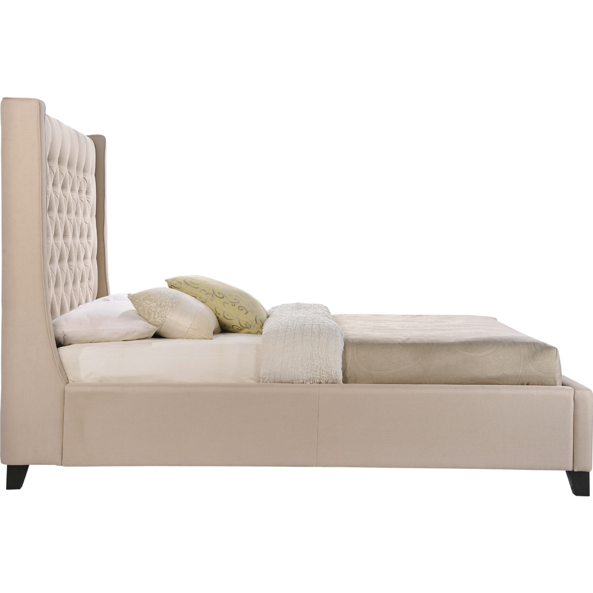 LuXeo Home Furnishings LUX Q6479 222 Huntington Queen Tufted