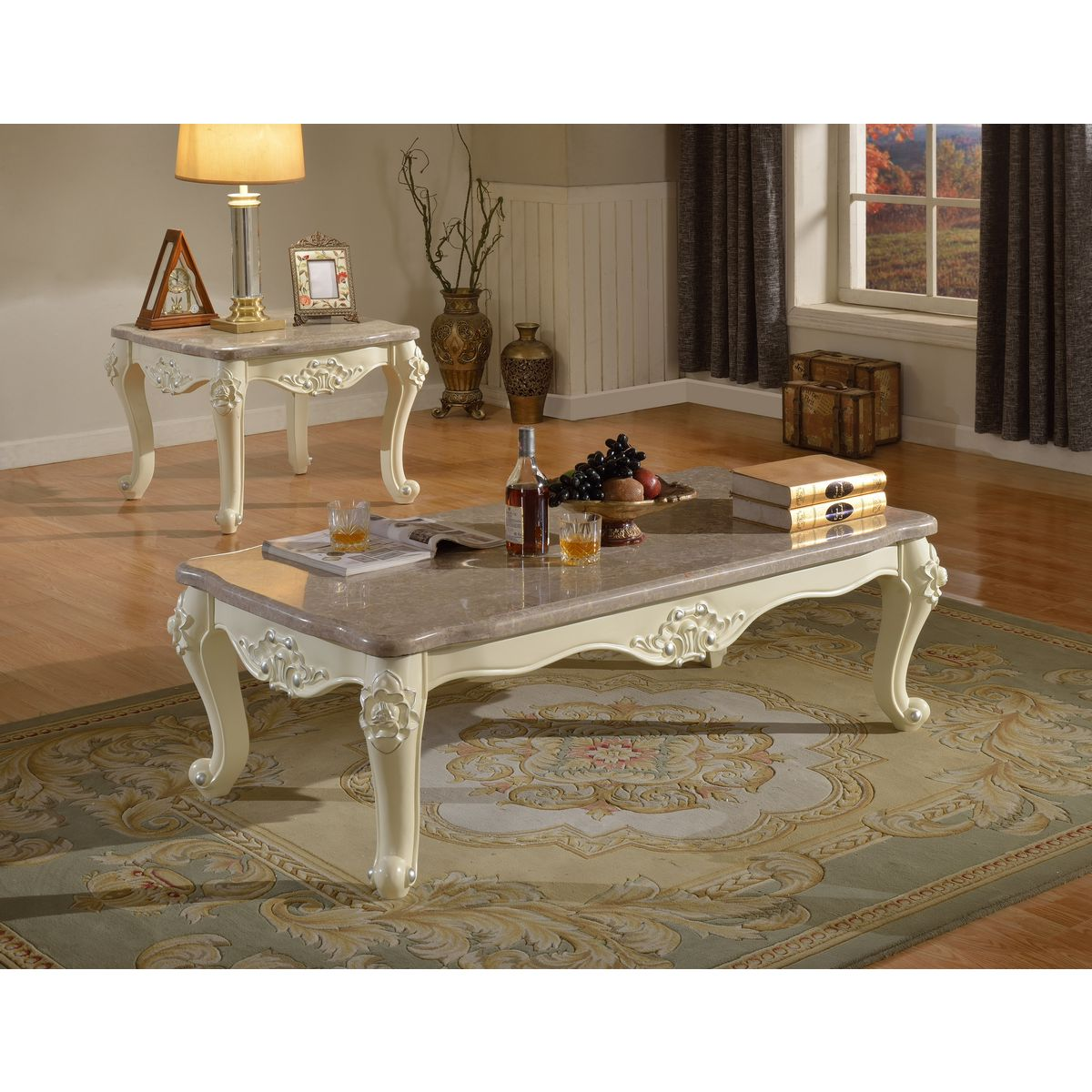 Meridian furniture 274 e madrid end table in rich pearl white meridian furniture madrid end table in rich pearl white silver w ornate carving marble top geotapseo Gallery