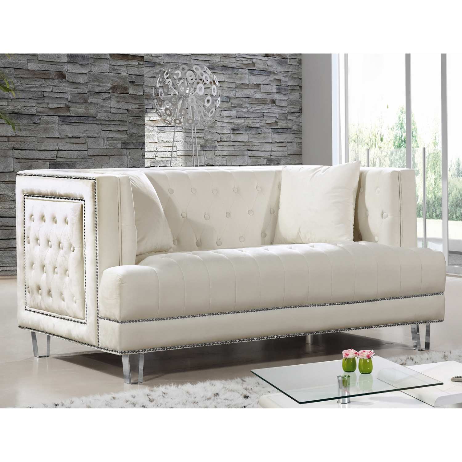 Tufted Nailhead Sofa Nailhead Trim Tufted Sofa Neiman Marcus Thesofa