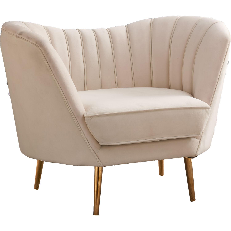 Meridian Furniture 622cream C Margo Accent Chair In Cream