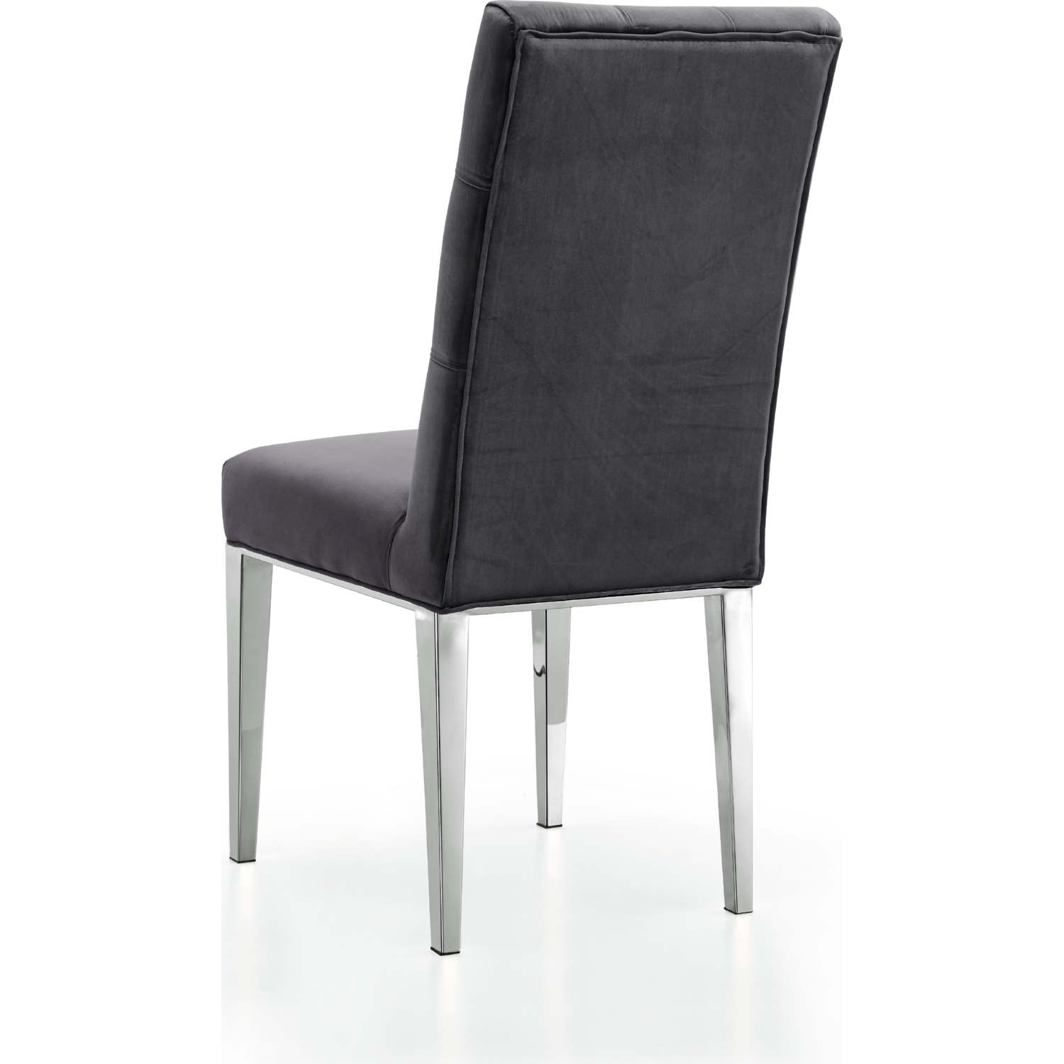 Meridian Furniture 732Grey C Juno Dining Chair in Tufted Grey
