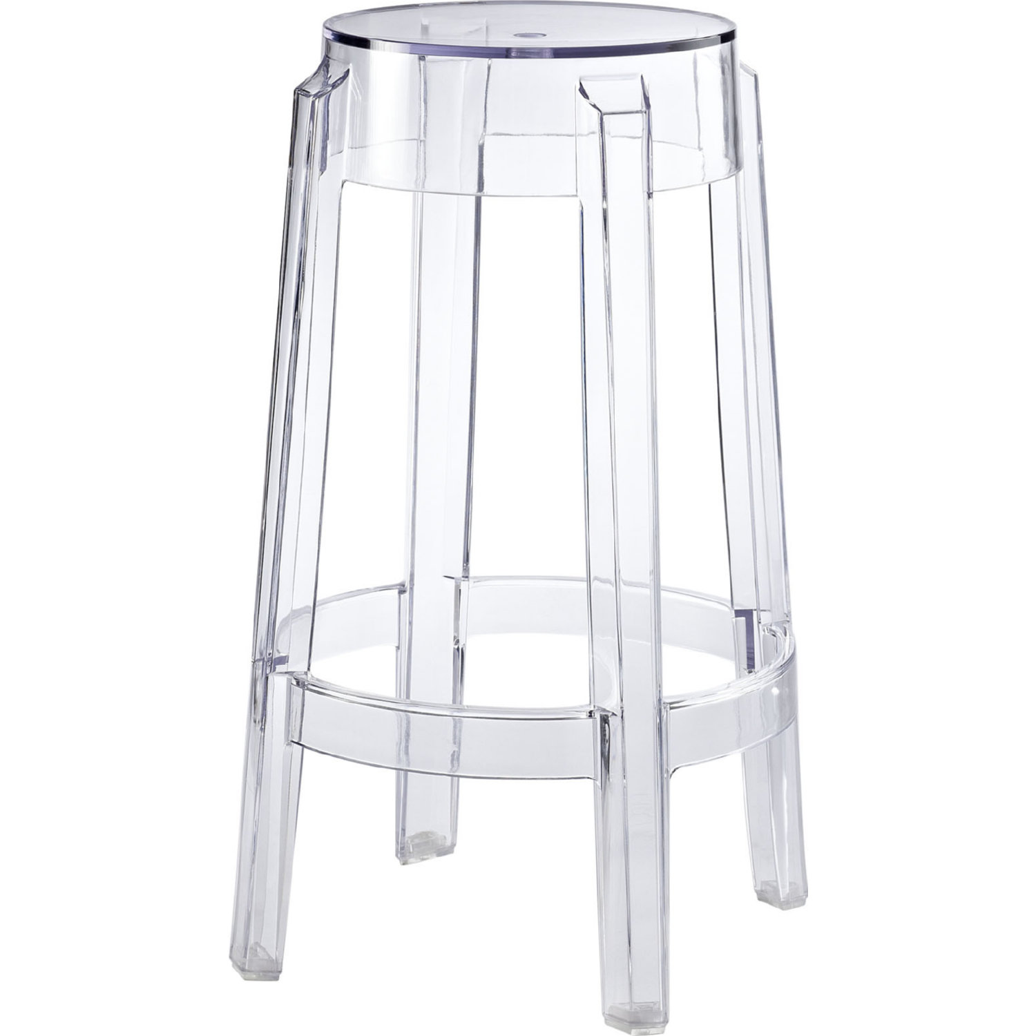 Modway Eei 171 Clr Casper Counter Height Stool In Clear
