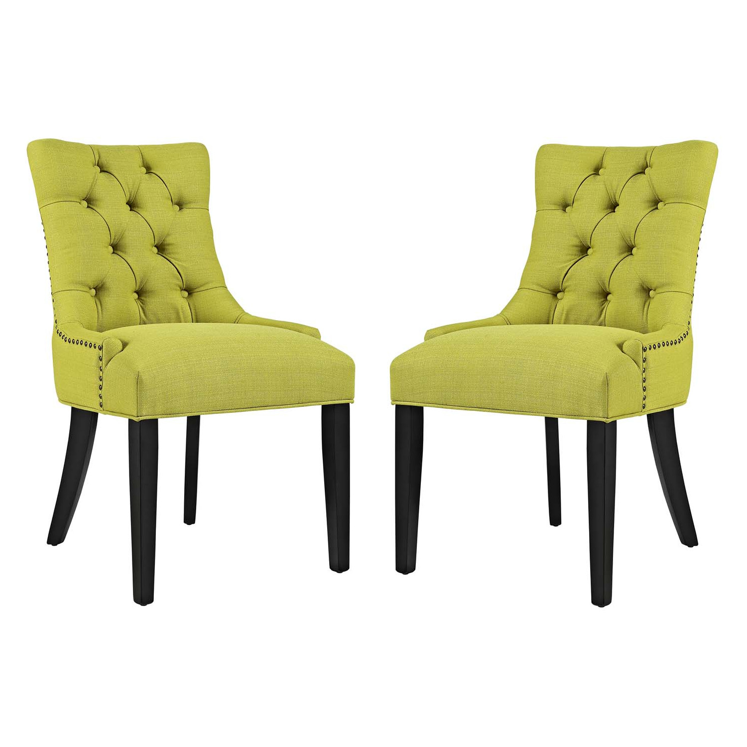 Modway Eei 2863 Blk Regent Dining Chair In Tufted