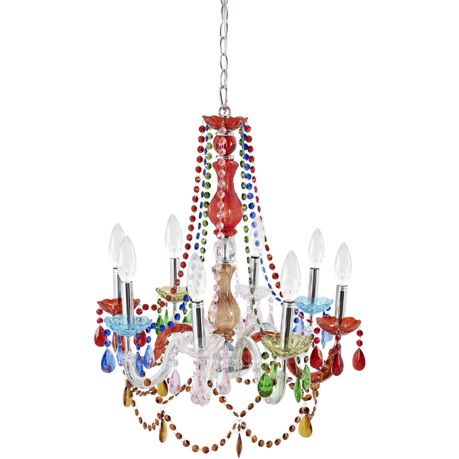 Modway Palace Acrylic Chandelier In Multicolored Tap To Expand