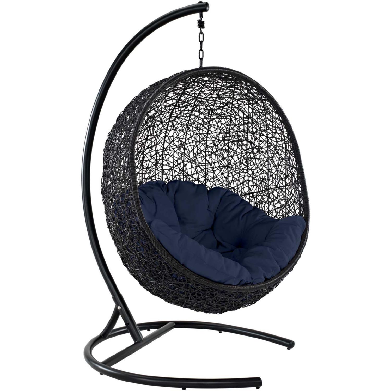 Modway Eei 2303 Nav Encase Swing Outdoor Lounge Chair In
