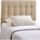 Modway Mod 5130 Blk Lily Queen Tufted Leatherette
