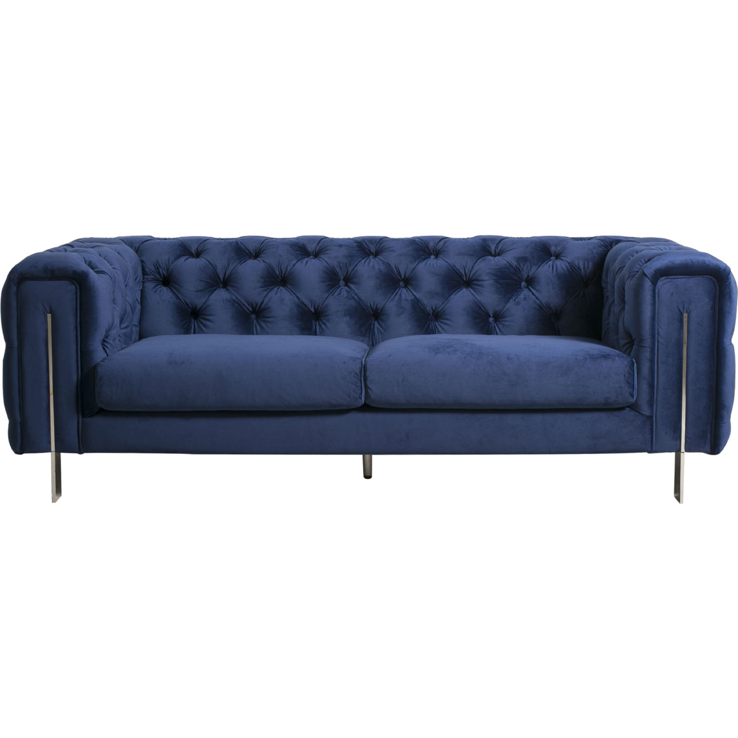 Moe s Home Collection AD 1061 26 Courtney 2 Seat Sofa in Tufted