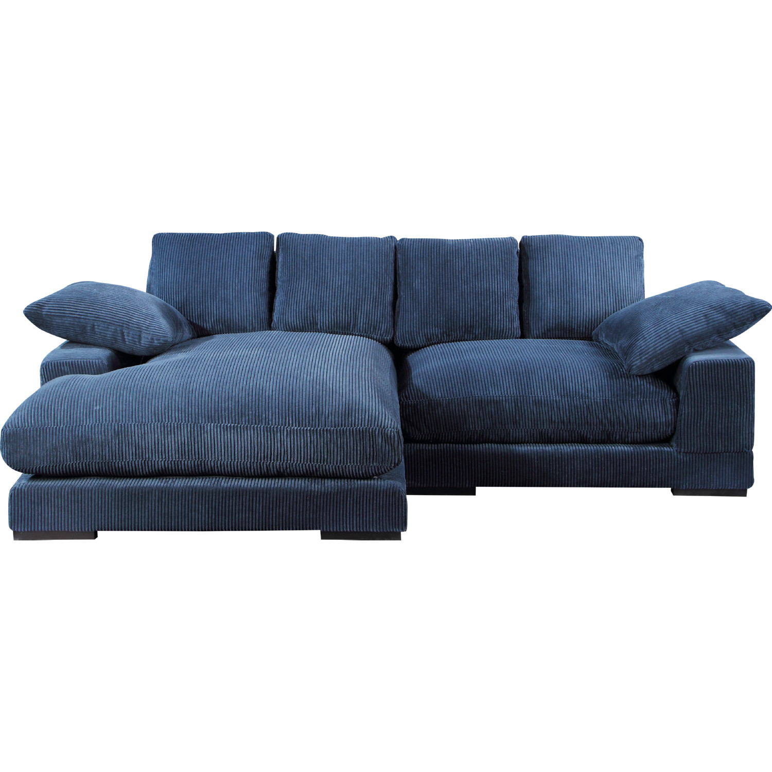 Moe S Home Collection Tn 1004 46 Plunge Sectional Sofa W Reversible