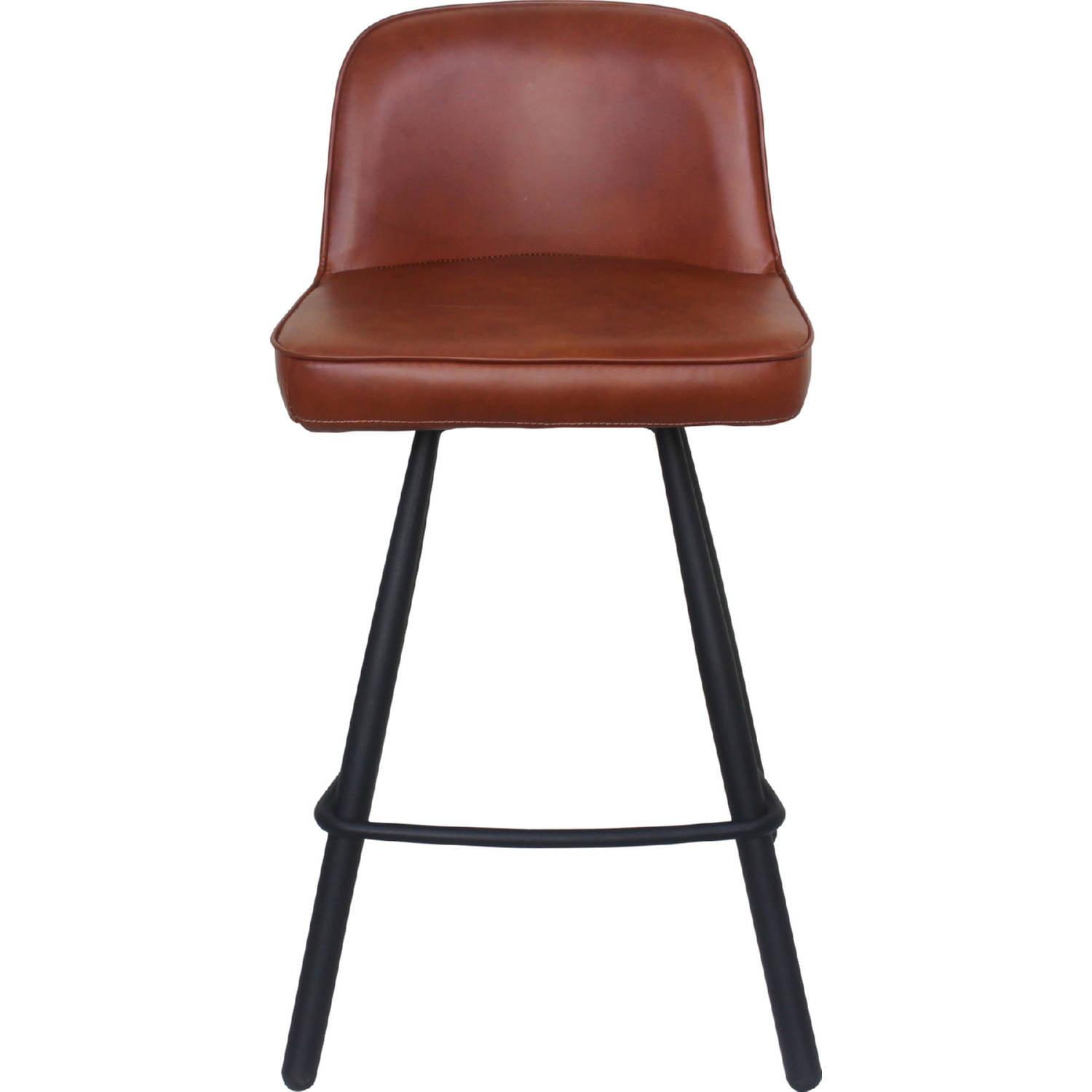 Enjoyable Eisley Counter Stool In Brown Leatherette On Metal Legs By Moes Home Collection Gmtry Best Dining Table And Chair Ideas Images Gmtryco