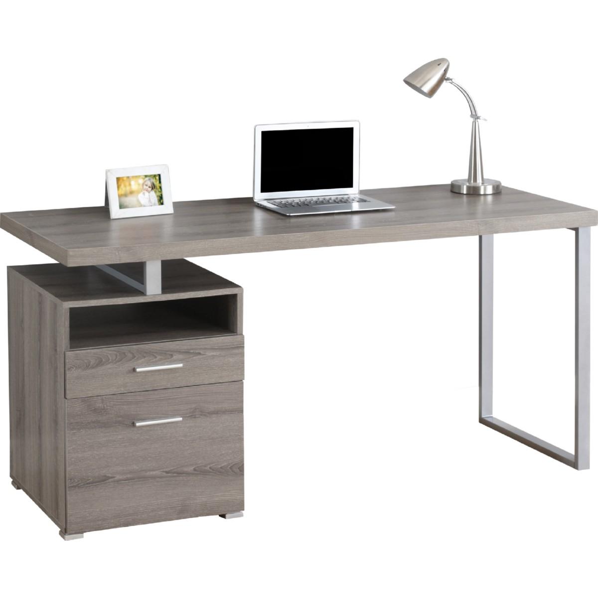 Monarch Specialties I 7145 60 Computer Desk In Reclaimed