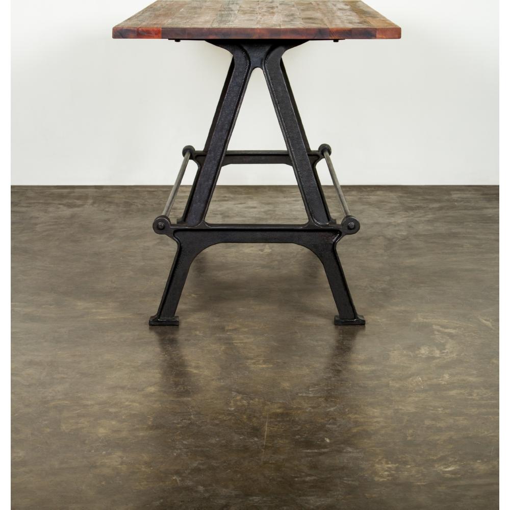 Nuevo Modern Furniture Hgda441 Kosen Bar Height Dining Table W. Cast Iron  ...