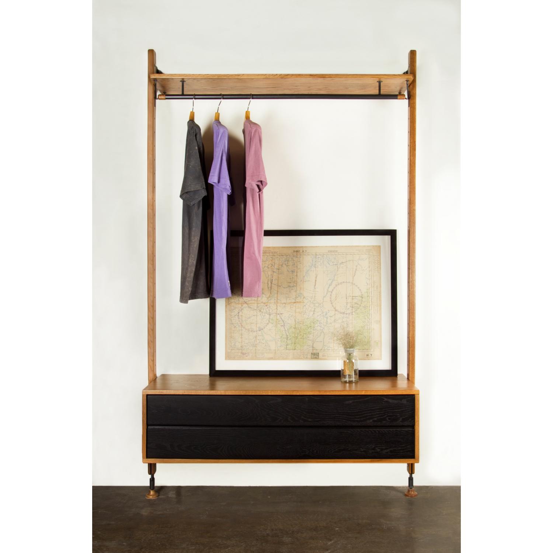 Nuevo modern furniture hgda theo clothing rack w