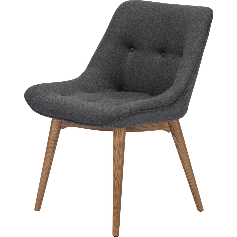 Nuevo Modern Furniture HGEM642 Brie Dining Chair in Tufted Dark