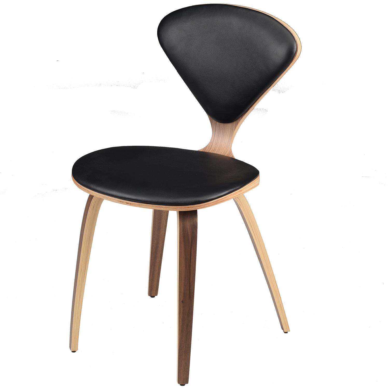 Nuevo Modern Furniture HGEM783 Satine Dining Chair in Black