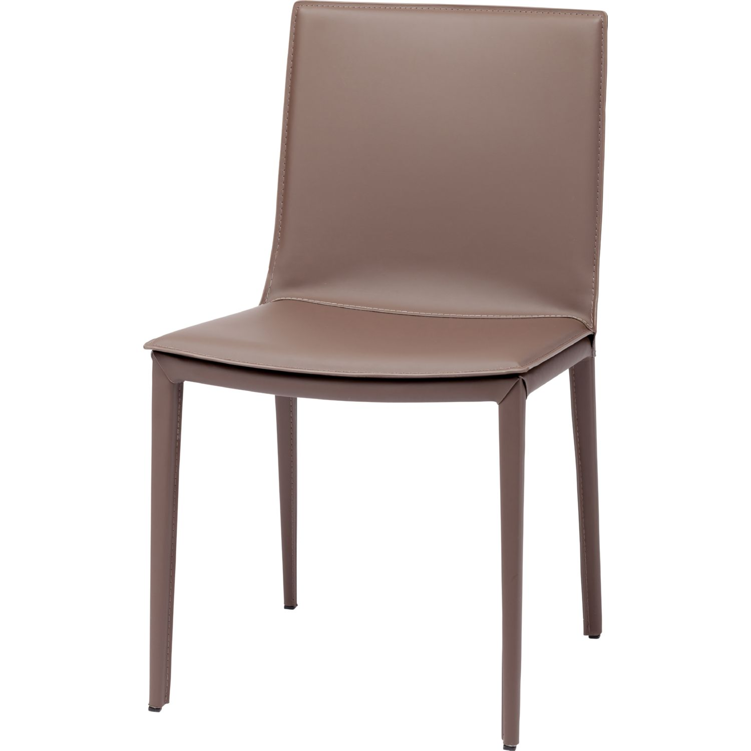 Nuevo Modern Furniture HGND103 Palma Dining Chair in Mink Leather