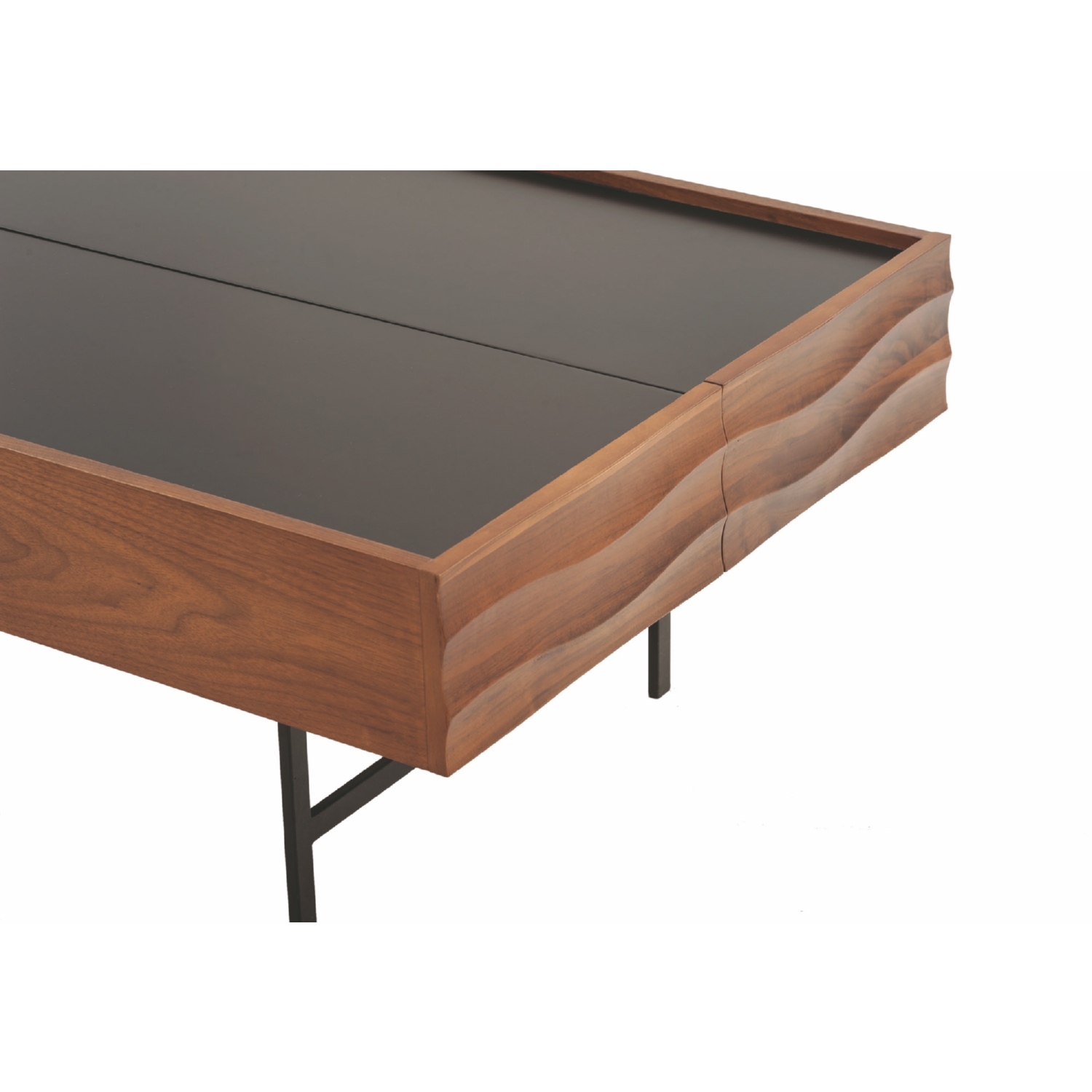 Nuevo Modern Furniture HGPM106 Swell Coffee Table in Black w