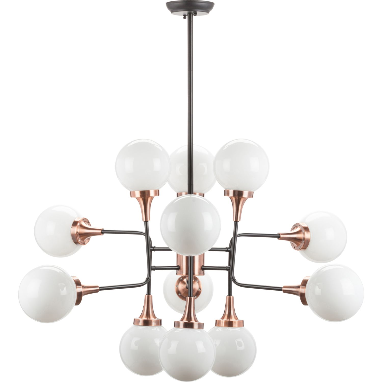 nuevo modern furniture hgra341 bella ceiling pendant light in copper
