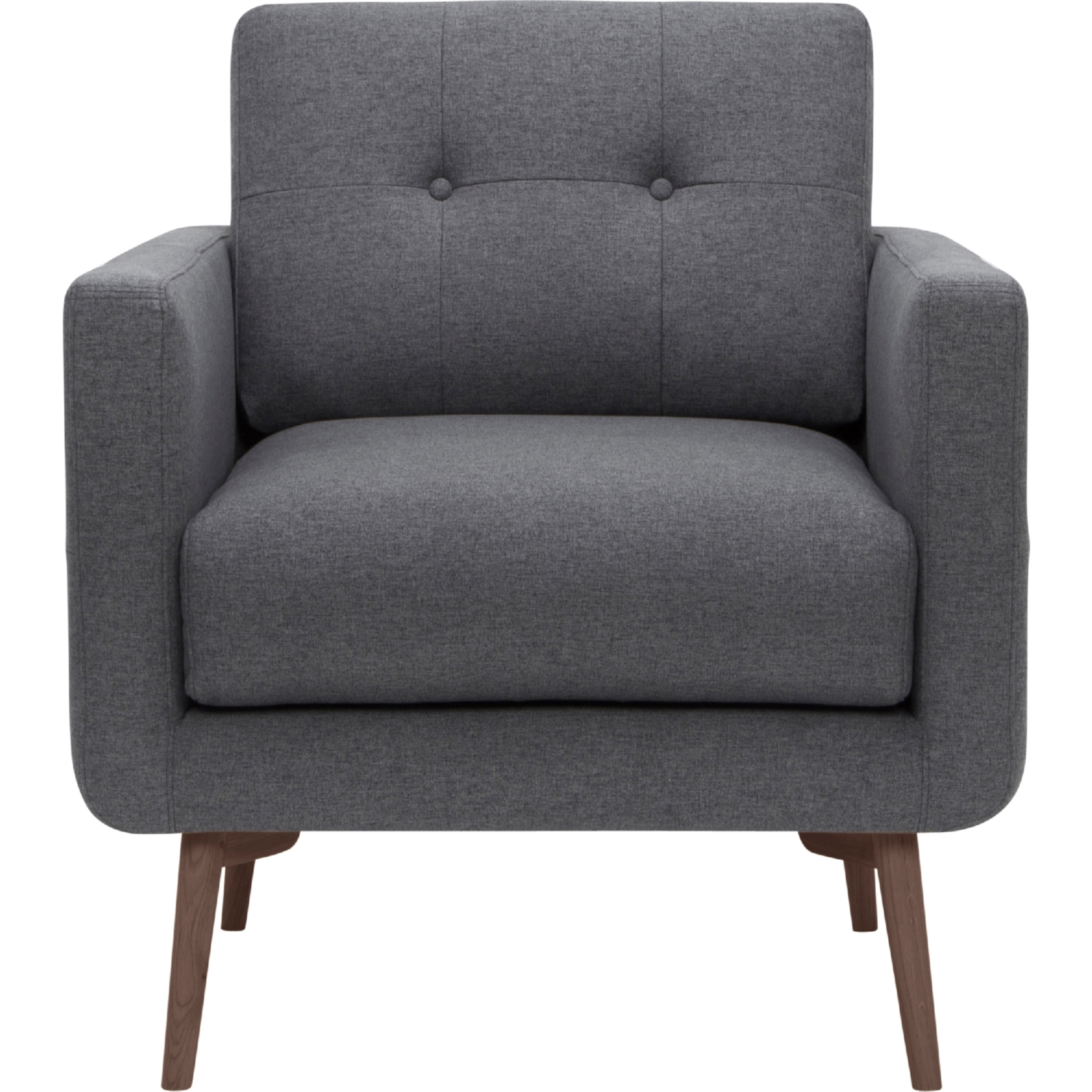 Nuevo Modern Furniture HGSC126 Ingrid Arm Chair in Tufted Shale