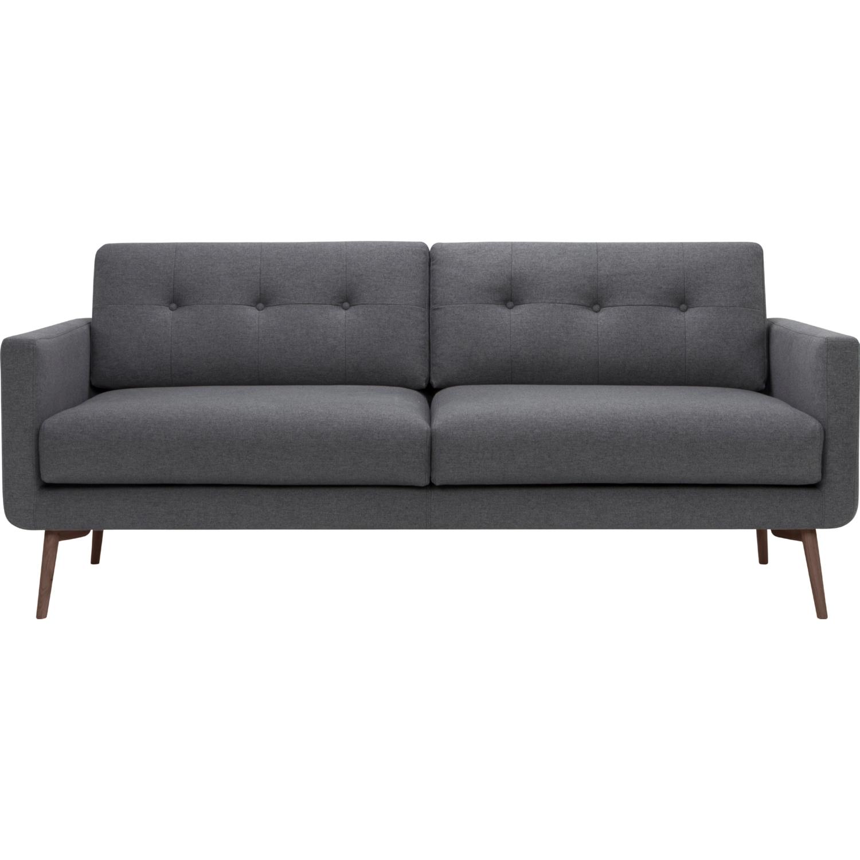 Nuevo modern furniture hgsc128 ingrid triple seat sofa in for Shale sofa bed