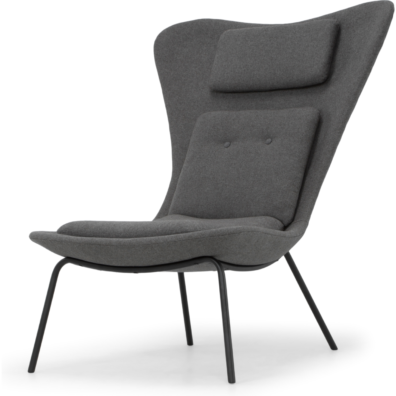 Amazing Barlow Accent Chair In Fossil Grey Fabric On Black Steel Legs By Nuevo Modern Furniture Theyellowbook Wood Chair Design Ideas Theyellowbookinfo