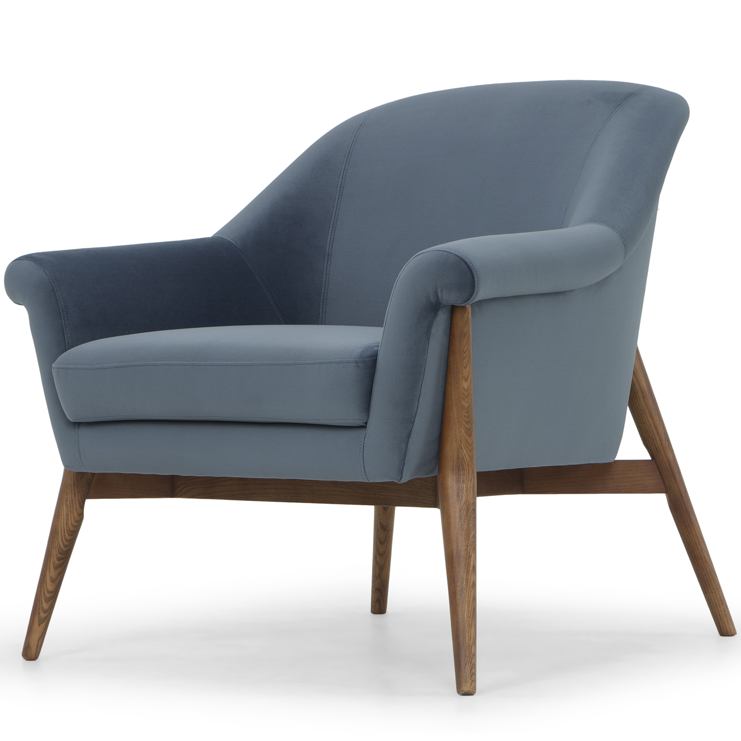 Nuevo Modern Furniture HGSC181 Charlize Accent Chair in Dusty Blue