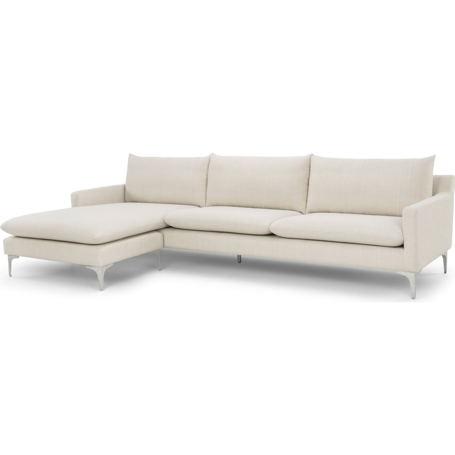 Nuevo Modern Furniture HGSC249 Anders Sectional Sofa w Left