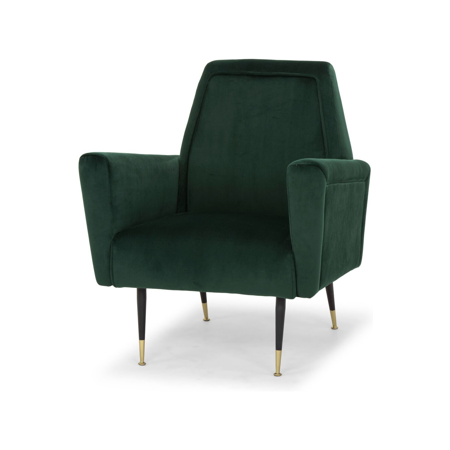 Nuevo Modern Furniture HGSC299 Victor Accent Chair in Emerald Green