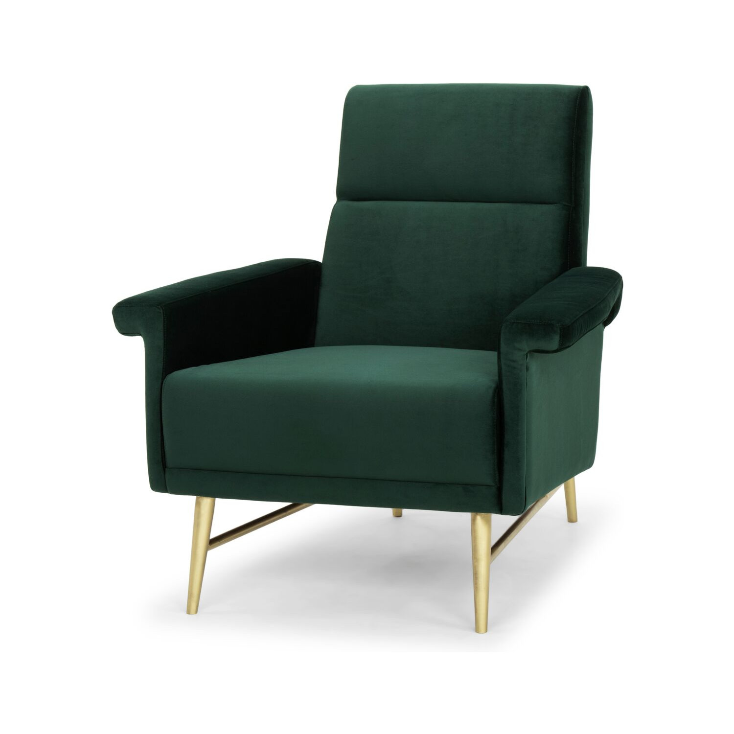 Nuevo Modern Furniture HGSC342 Mathise Accent Chair in Emerald Green
