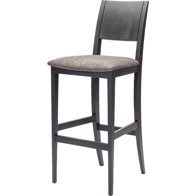 nuevo modern furniture hgsr eska bar stool in dark grey fabric  - nuevo modern furniture eska bar stool in dark grey fabric  grey oxidizedoak