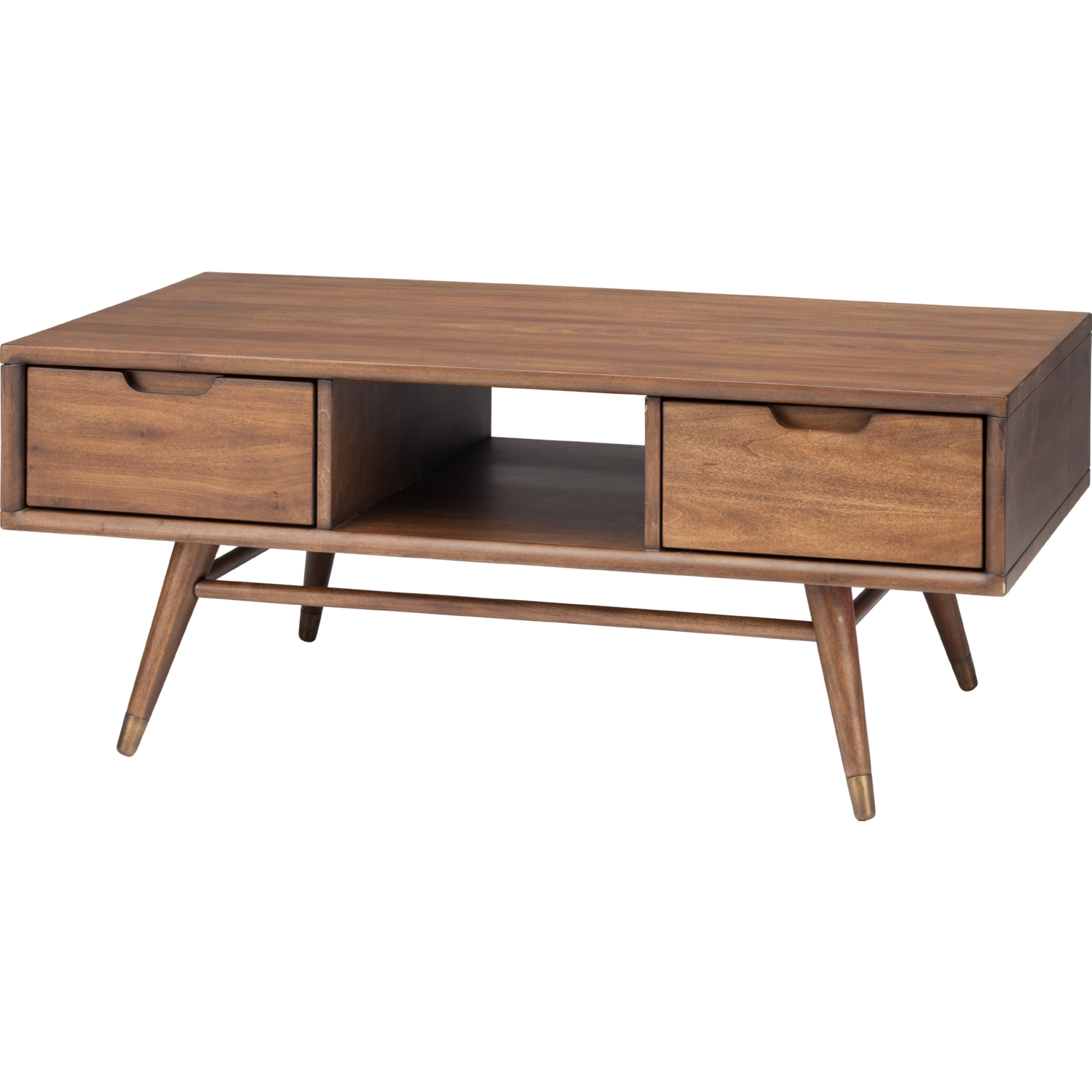 Nuevo Modern Furniture HGST114 Jake Coffee Table in Walnut Stain w