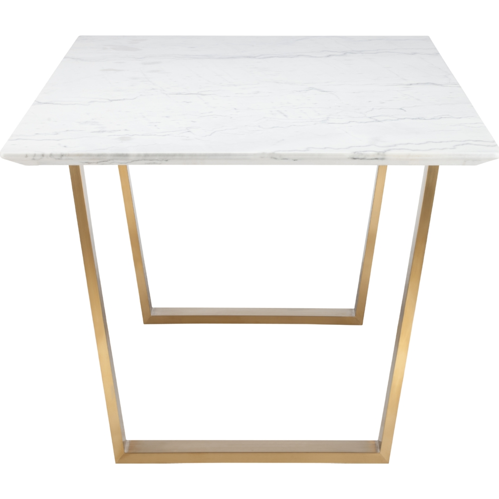 Nuevo Modern Furniture HGSX139 Catrine Dining Table w/ White Marble ...