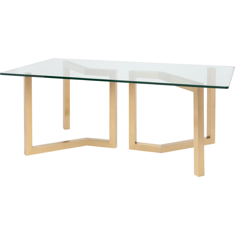 Nuevo Modern Furniture HGSX170 Paula 78 Dining Table W